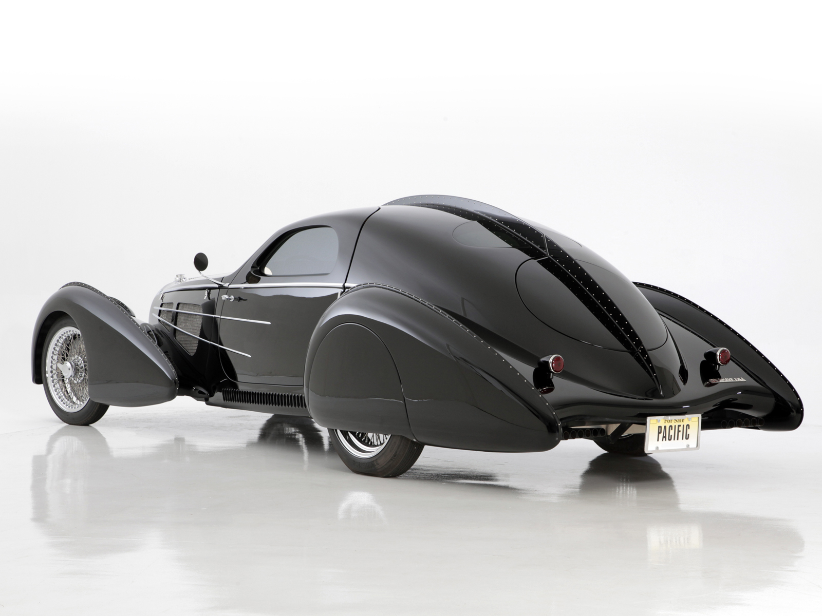 2014 Delahaye Usa Pacific Bugatti Atlantic Tribute