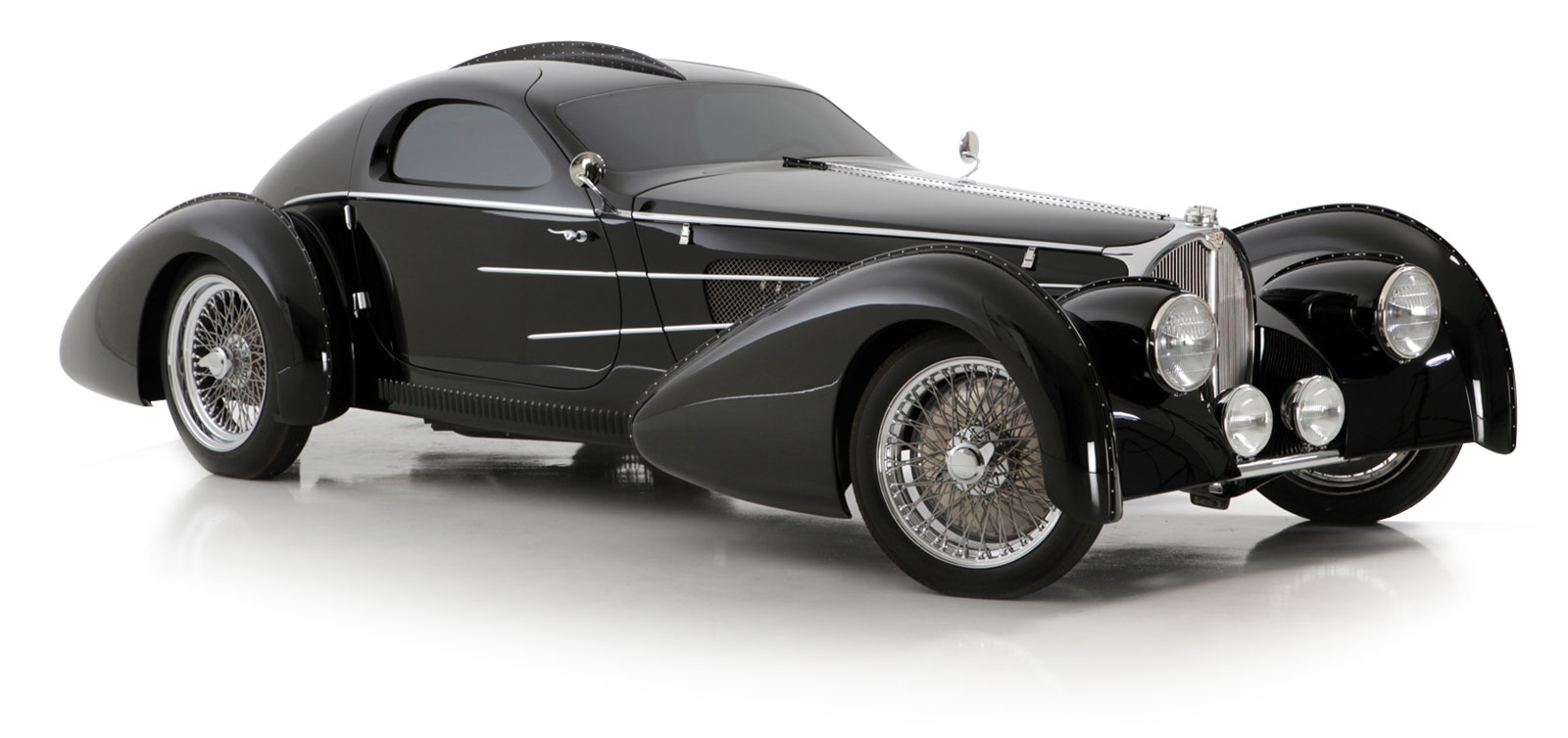 The Pacific - A Modern Tribute to the Classic 1937 Type 57S Bugatti
